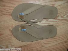 UNC Flip Flop Sandals BROWN size large