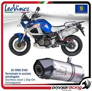 Leovince LV ONE Evo Pot D'Echappement acier YAMAHA XT 1200 Z SUPER TENERE' 10>16