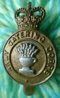 Royal Army Catering Corps Cap Badge QC Bi-Metal Slider maker JR GAUNT