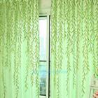 Room Willow Tulle Voile Door Window Curtain Drape Panel Sheer Scarf Valances