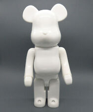 Bearbrick 400 DIY Paint Color White PVC Action Figure Toy 28CM Be@rbrick Gifts