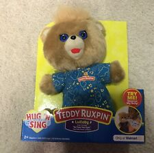 Teddy Ruxpin PJ Sing A Long Lullaby Walmart Exclusive New 2018