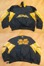 Men's Michigan Wolverines XL Vintage Jacket Windbreaker Starter