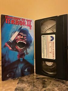 Trilogy of Terror 2 VHS rare horror II slasher big box Dan Curtis Zuni Doll