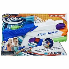 NERF Super Soaker Dartfire Blaster Water Pistol