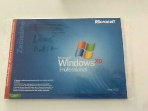 Microsoft Windows XP Professional 2002 Czech Service Pack 2