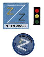 Team Zissou Life Aquatic LogoTraffic Light Frogman Bundle 3pcs IRON ON PATCH