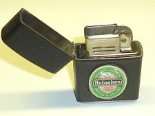"REVOLT (DUBSKY) VINTAGE LIGHTER WITH ""HEINEKEN"" BEER ADVERTISING- 1951 - AUSTRIA"