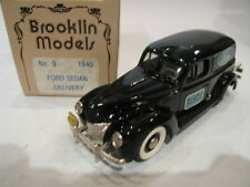 1/43 BROOKLIN 9 FORD SEDAN DELIVERY FORD SERVICE 1940