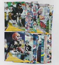 1994 Pinnacle Trophy Collection Parallel 16 Card Lot NFL Football
