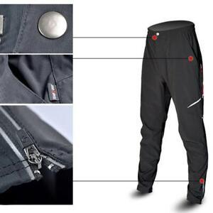 Waterproof Men Cycling Thermal Winter Pants MTB Bike Bicycle Windproof Trousers✼