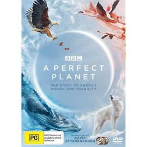 A Perfect Planet. BBC David Attenborough  (Dvd,2021) *NEW Region 4