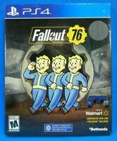 Fallout 76 Playstation 4 Steelbook + Controller Skin