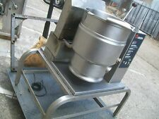 GROWN 20 QT. GAS  STEAM JACKETED KETTLE MODEL TDH-20, W/STAND 900 ITEMS ON E BAY
