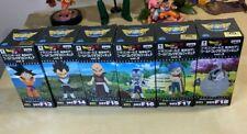 Banpresto Dragon Ball Z Resurrection Fukkatsu F Freeza Movie WCF Vol 3 Set