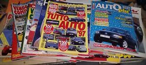 RIVISTE VARIE AUTO ANNI 80 E 90 GENTE MOTORI, AUTO OGGI  ECC....
