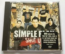 SIMPLE PLAN SHUT UP! very rare UK DVD Single Brand New cd 2005