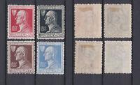 ITALY 1927 Alessandro Volta Mint *  Sc.188-191 (Sa.210/213)
