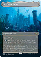 Academy Ruins - Foil - Borderless x1 Magic the Gathering 1x Double Masters mtg c