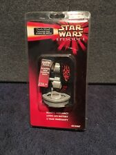 New star wars episode 1 Darth maul sculpted case character watch