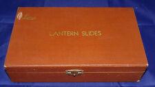 Leica Lantern Slide Rare Brown Organizer Storage Box Case 100 Lanca Leitz