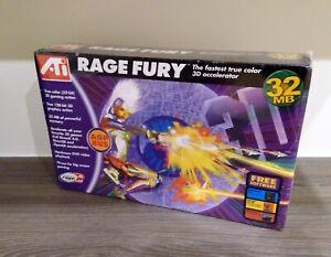 ATI Rage Fury AGP 32MB (sealed, neu, selten, rare, retro, vintage)