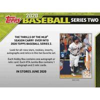 2020 Topps Series 2 Baseball Hobby Box Presale