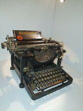 Antike sehr alter Remington Schreibmaschine Standard 11 von 1920 -100 Jahre Alt