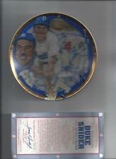 1993 The Hamilton Collection DUKE SNYDER PLATE BASEBALL MLB