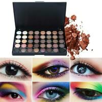 Kosmetische Matte Eyeshadow Cream Makeup Palette funkelnden Set Farbe Neue F7M6