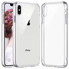 Protective iPhone XS MAX Clear Case. Shock Absorption Phone Cover.