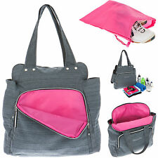 Sporttasche Damen Shopper Alessandro Workout Bag Tasche Weekender 12315 Pink +f