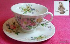 Royal Doulton (Arcadia) CUP & SAUCER SET(s) Pat #H4802 Smooth Brown Mark