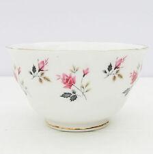 Vintage Royal Osborne Bone China Sugar Bowl Pink Roses