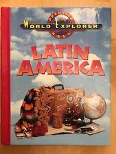 WORLD EXPLORER: LATIN AMERICA SE 1998 By M. L. Levasseur - Hardcover - LIKE NEW