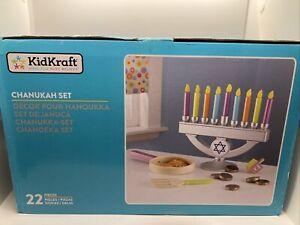 Chanukah Set Menorah Children's 31 Piece Play Set KidKraft Item 62905B Ages 3+