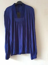 ZARA Women Puffed Sleeve Boho T- Shirt  Size: S  BNWT!