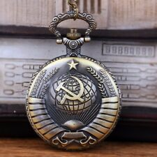Watch Antique Style Pocket Watch Gift Vintage Pocket Watch Soviet Badge Classic