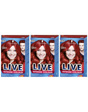 Schwarzkopf Live Intense 035 Real Red Pro Permanent Hair Colour.