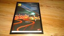 RENAULT MEGANE-2004 framed original advert