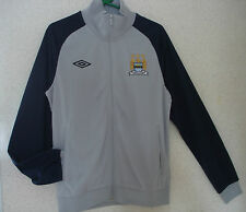 UMBRO MCFC Track Jacket Football Soccer Tracksuit Jacket Size Medium