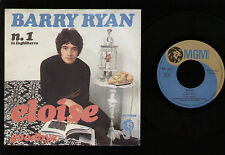 """7"""" BARRY RYAN ELOISE / GOODBYE MADE IN ITALY 1968 MGM POP BRITISH BEAT ROCK"""