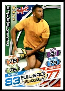 Topps Rugby Attax 2015 - Kurtlet Beale Australia No. 27