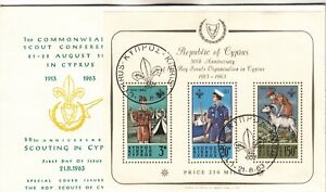 Cyprus Scouting First Day Cover
