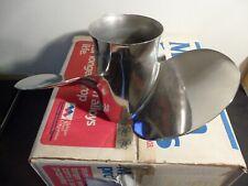 Michigan Wheel 033021 15 x 19 RH Stainless Steel  Propeller