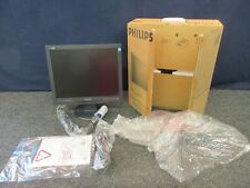 "PHILIPS COMPUTER MONITOR LAPTOP EXTENSION LCD 15"" VGA DISPLAY 150S7 SECURITY NEW"