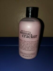Philosophy Pink Frosted Animal Cracker 3-in-1 BRAND NEW 16oz