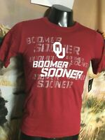 NWT new Nike OU Oklahoma Sooners T SHIRT Youth Boys S M L XL Boomer Practice Tee