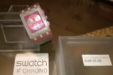 "Gioielli/Orologio "" SWATCH CHRONO SQUARE "" Swiss Made/The Club"