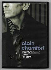 DVD / ALAIN CHAMFORT - INTERVIEW + CLIPS + CONCERT (MUSIQUE CONCERT)
